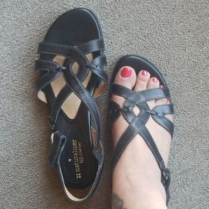 Leather Naturalizer 'Cooper' sandal, like new!
